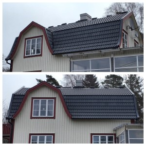 Detta huset har fått ett nytt fint tak!
